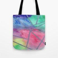 tie dye Tote Bags featuring Tie dye by Bridget Davidson