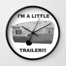 Trailer Trash 2 Wall Clock