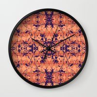 jungle Wall Clocks featuring Jungle by Nahal