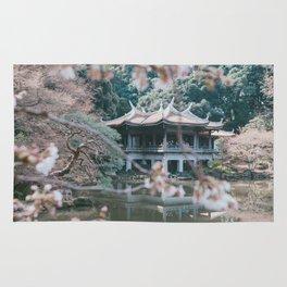 Sakura garden Hanami Rug