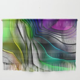 COLOR COVERGECE ABSTRACT Wall Hanging