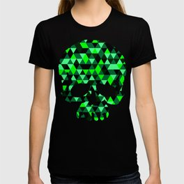 Triangle Camouflage Skull (WITHE) T-shirt