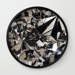 Mirror Reflections Wall Clock
