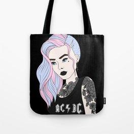 Punk Princess Tote Bag