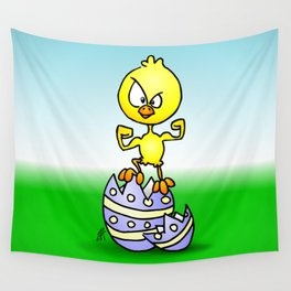 Easter Chick Wall Tapestry
