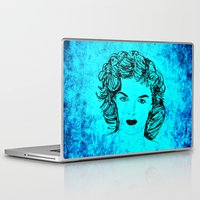 jane eyre Laptop & iPad Skins featuring Jane by Rabassa