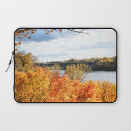 Twin Cities Mississippi River Laptop Sleeve