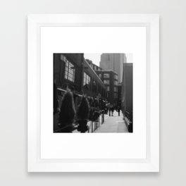 Post Alley, Seattle Framed Art Print