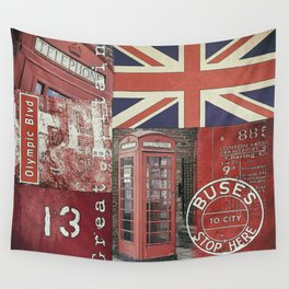 Great Britain London Union Jack England Wall Tapestry