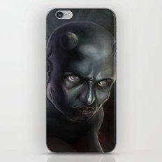 Demonoid Girl Portrait iPhone & iPod Skin
