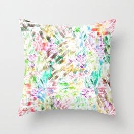 watercolour line Throw Pillow