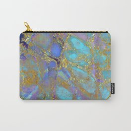 Where Mermaids Sing #buyart #marbled #decor #society6 Carry-All Pouch
