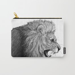 Lion's Snarl Carry-All Pouch