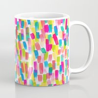 olivia joy Mugs featuring Color Joy by Jacqueline Maldonado