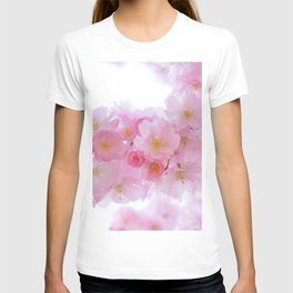 Pink Cherry Blossoms T-shirt