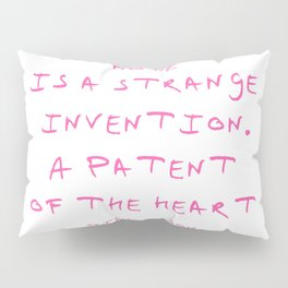 Dickinson poetry-  Hope is a strange invention Pillow Sham