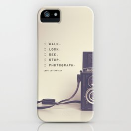 I Photograph iPhone Case