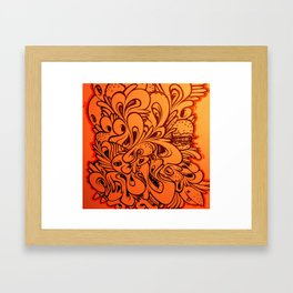 BlackBook Framed Art Print