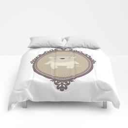 sweet wolf Comforters