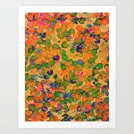 Lily Pad Tie Art Print