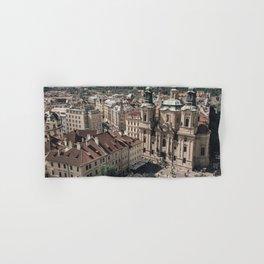 Prague Rooftop 01 Hand & Bath Towel
