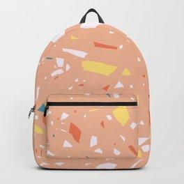 Terrazzo pattern 3 Backpack