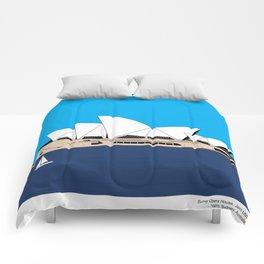 Opera House Utzon Modern Architecture Comforters