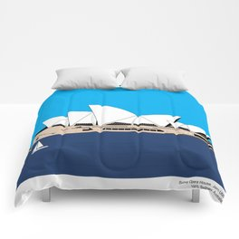 Opera House Utzon Modern Architecture Comforters