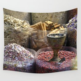 Spice souk Dubai Wall Tapestry