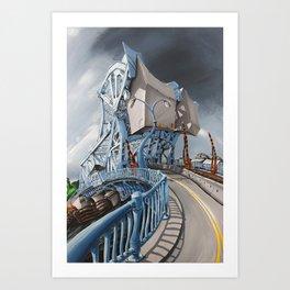 Johnson Street Bridge Art Print