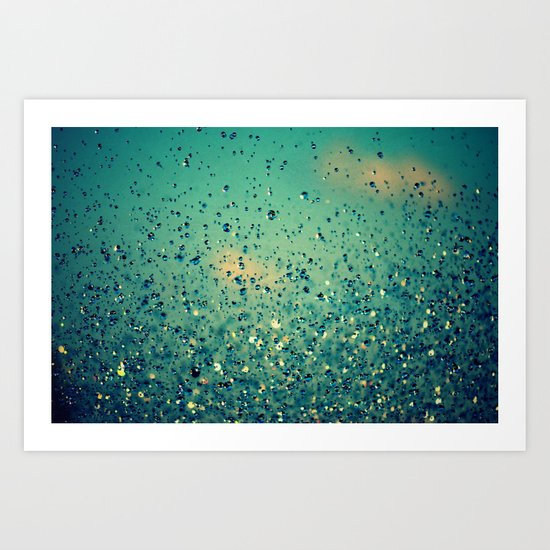 Lullaby, Just Close Your Eyes Art Print