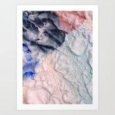 Folds II Art Print