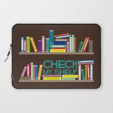 Check My Shelf Laptop Sleeve