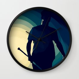 'cause we've been fighting lately... Wall Clock
