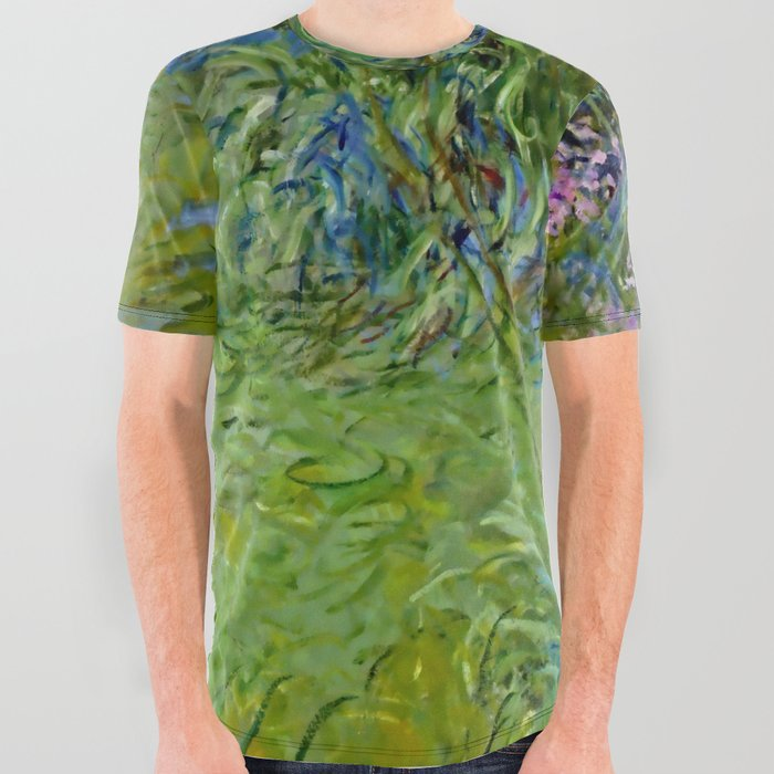 Claude_Monet_Agapanthus_Flowers_All_Over_Graphic_Tee_by_Alexandra_Arts__Large