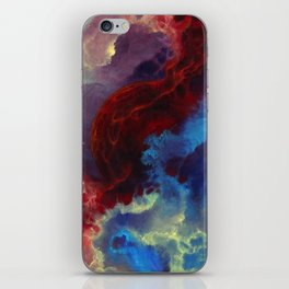 Everything begins with a spark iPhone Skin