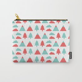 Pines, mountains & clouds Carry-All Pouch