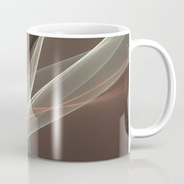 Ways Of Life 2, Modern Abstract Fractal Art Coffee Mug
