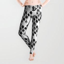 2706 Today's grey pattern ... Leggings