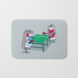 Beer Pong Bath Mat