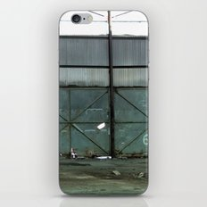 Empty Warehouse iPhone & iPod Skin