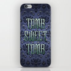 Haunted Mansion - Tomb Sweet Tomb iPhone & iPod Skin