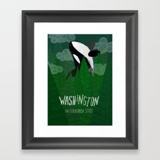 Washington Framed Art Print