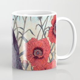 Crow Effigy Coffee Mug