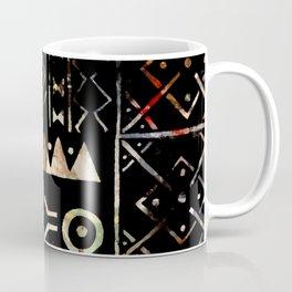 Golden Mud Cloth Coffee Mug