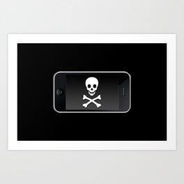The Death Phone Art Print
