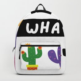 What the Fucculent Backpack