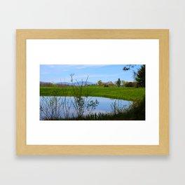 Think Spring Framed Art Print