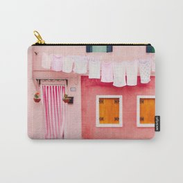 Laundry Day in Burano Italy Carry-All Pouch