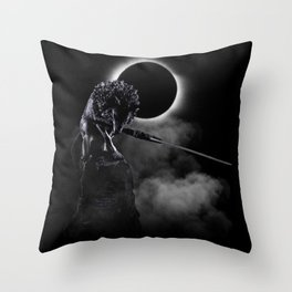 Loyal Wolf Throw Pillow